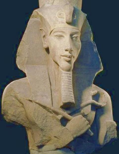 Pharaoh NeferKheperura Uaenra, Amenhotep IV, who became Akhenaten