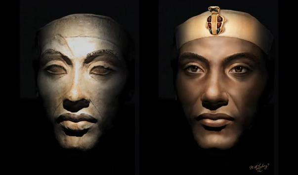 A biography of akhenaton also known as the heretic king