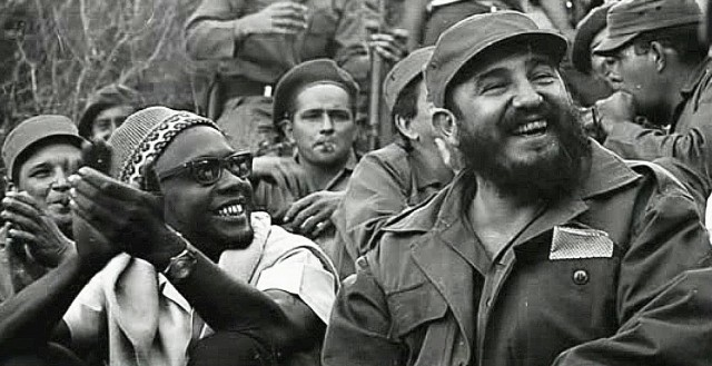 We can see Cabral and Fidel Castro, a person who has done a lot for Africa and who supported several liberation African movements – for example the ANC in South Africa.
