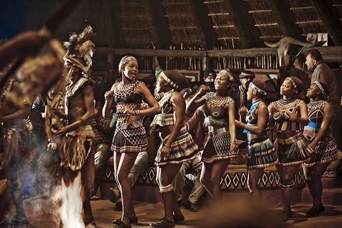 Women from the People of Heaven, ie the Zulu people.