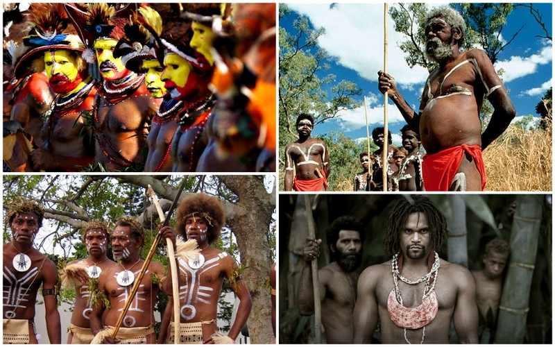 The African origins of the Aboriginals of Oceania