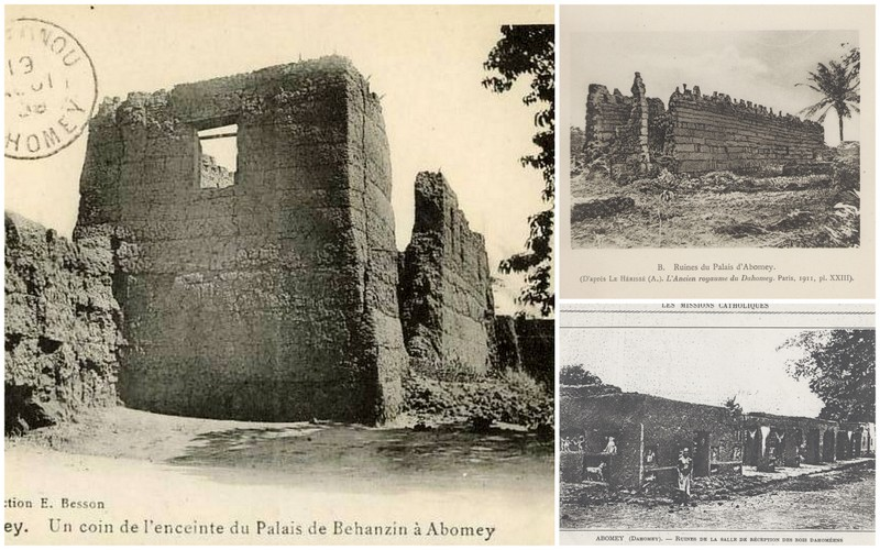 The ruins of the architecture of Danhomey