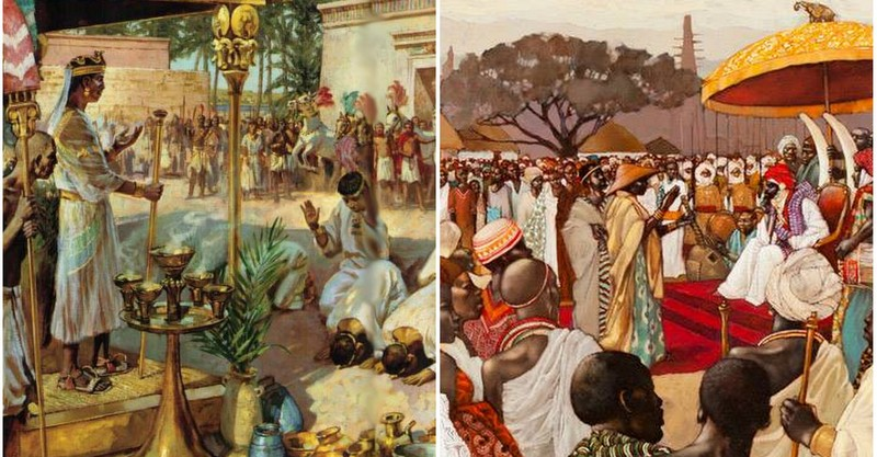No, African societies were not based on slavery