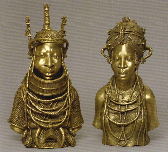 Bronze sculptures from the kingdom of Benin