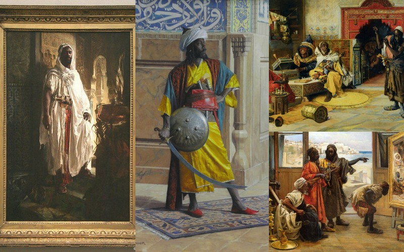 Illustrations of Moors