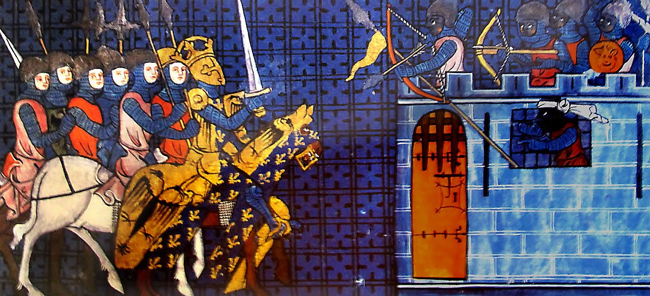 The Kingdom of Agen defended by the Moors against Charlemagne's Armies, 1335 Source: The Golden Age of the Moor, edited by Ivan van Sertima, page 63