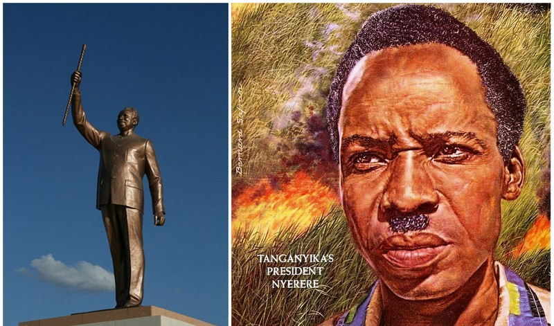"""""""Mwalimu"""" Julius Nyerere, in the name of the tradition!"""