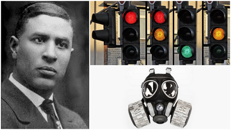 Garrett Morgan, inventor of the gas mask and the traffic signal