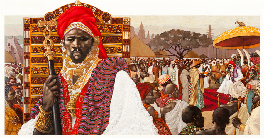 Sunni Ali Ber, the founder of the Songhai empire