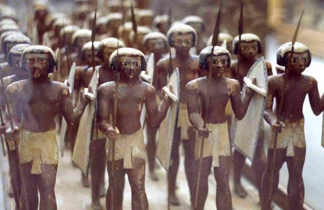 Soldiers of the pharaonic period