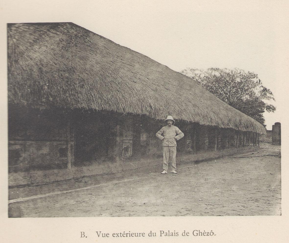 The palace of king Ghezo, grandfather of Behanzin