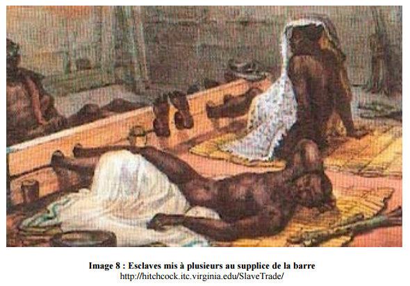 Supplice infligé aux Africains