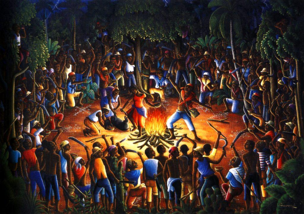La cérémonie du Bois Caïman