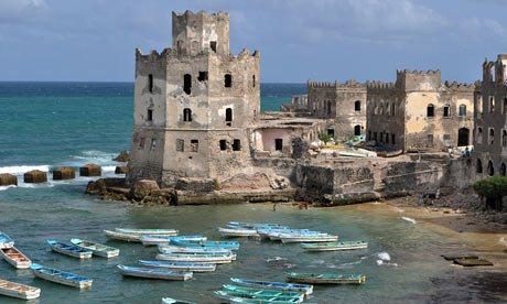 L'ancien port de Mogadiscio